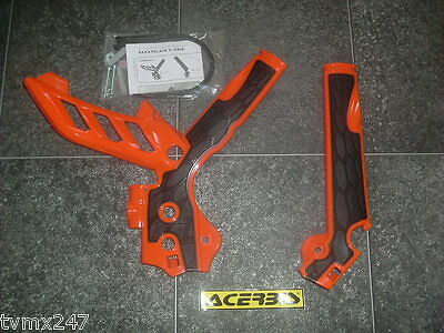 ACERBIS FRAME PROTECTOR COVER TO FIT KTM SXF 450 SXF450 2011 TO 2015