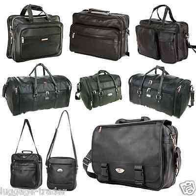 Business Gym Travel Weekend Holdall Laptop Leather Carry Cabin Bag Christmas