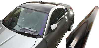 Gloss Vinyl Car Wrap Black (Air/Bubble Free) 1520mm x 300mm