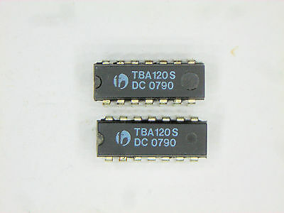 "TBA120S  ""Original""  National  14P DIP IC  2  pcs"
