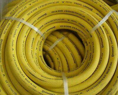 "Continental  Made in USA 3/4""(19mm) x 5M x 250PSI Air/Water Hose with No Ends"