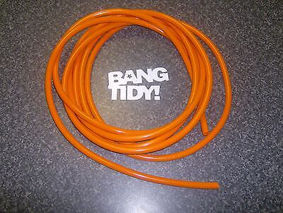 Piaggio B Orange 5-6 Mm Petrol Fuel Line Pipe Hose