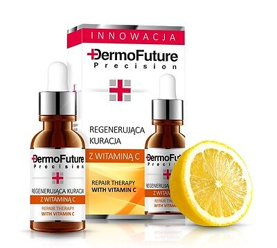 DermoFuture Repair Therapy with Vitamin C face serum Anti Ageing Anti wrinkle