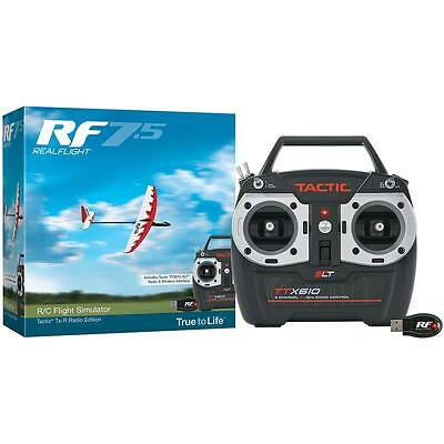 NEW Great Planes RealFlight 7.5 w/Tactic TTX610 GPMZ4526