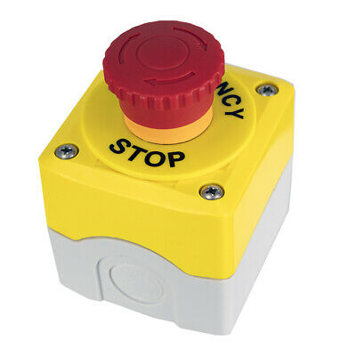 Emergency Stop Button Gas Interlock Control Panel Units Twist Release