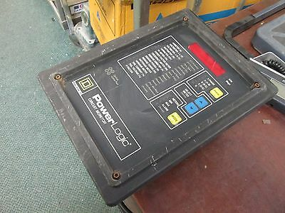 Square D PowerLogic Circuit Monitor 3020 CM-2150 w/ 3020 IOM-11 100-264VAC Used