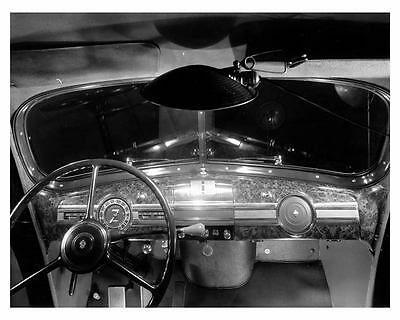 1939 Packard Six Instrument Panel Factory Photo ca2028