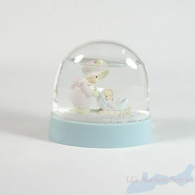 Enesco Expressions Precious Moments Waterball Mom & Baby Winter Scene 184470