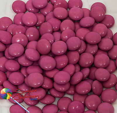 PINK COLOUR CHOCOLATE DROPS -  400 grams Post Included