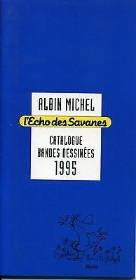 Bd. Catalogue Albin Michel Echo Des Savanes 1995.