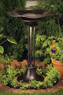 Kichler 15405 AGZ Metal Bird Bath