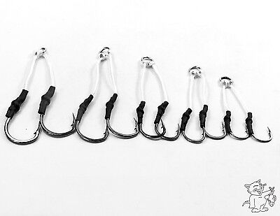 5Packs Assist Jig Hooks In Rings 5 Different Sizes #H2