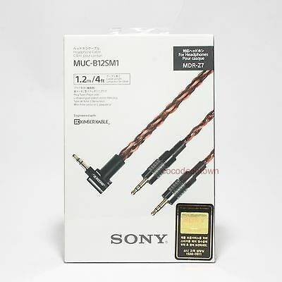 Sony Headphone Cable MUC-B12SM1 For MDR-Z7 Replacement Custom Genuine Original