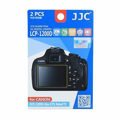 JJC LCP-1200D LCD Screen Protector Film for Canon EOS 1200D,1300D, X70, X80,T5