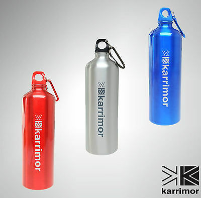 Mens Ladies Karrimor Personalised Sports Gym Cycling Hiking Aluminium Bottle 1 l