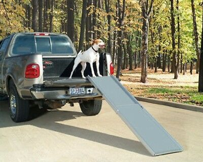 SOLVIT Deluxe XL Telescoping Pet Dog Car Truck SUV Ramp