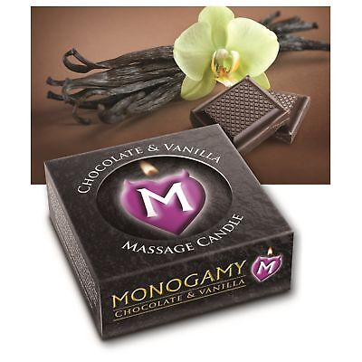 MONOGAMY Small Massage Candle Chocolate FAST DISCREET POST Adult Couples