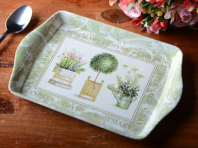 TOPIARY Small MELAMINE SCATTER TRAY By Creative Tops