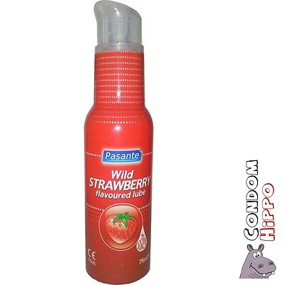 PASANTE WILD STRAWBERRY 75ml Lubricant Flavour FAST FREE POST Private