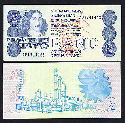 South Africa 2 Rand ND (1983-1990)  P.118d UNC Note
