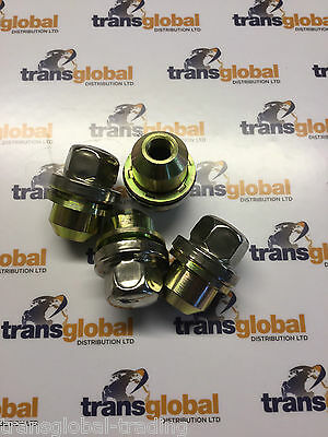 Land Rover Discovery 2 TD5 or V8 (98-04) Alloy Wheel Nuts x4 - Bearmach ANR3679