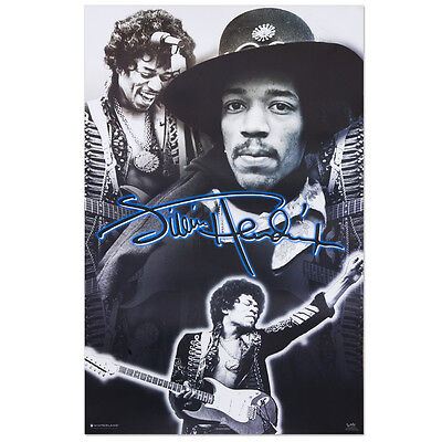 JIMI HENDRIX - MONTAGE COLLAGE POSTER - 22x34 MUSIC 5273