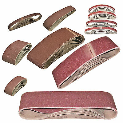 European Sanding Belts Large Choice Of Mixed Sizes And Grits For Belt Sanders