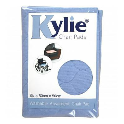 Kylie Washable Chair Pad - Blue - 1 Litre Absorbency