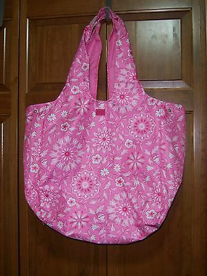 Longaberger Sisters Market Tote ~ Pink Passion ~ NEW