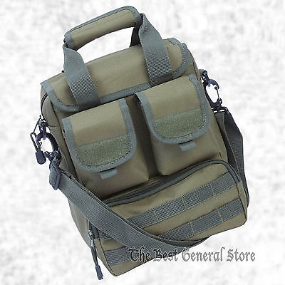 """15"""" Army Olive Green Tactical Utility Gear Bag Ammo Pak Bug Out Day Pack"""