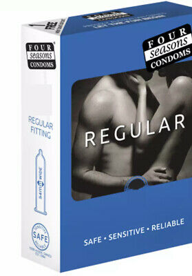FOUR SEASONS REGULAR FITTING FIT 144 Condoms Bulk BUY BOX