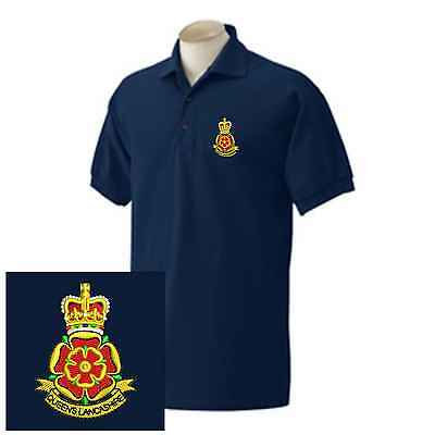 Queens Lancashire Regiment Embroidered Polo Shirts