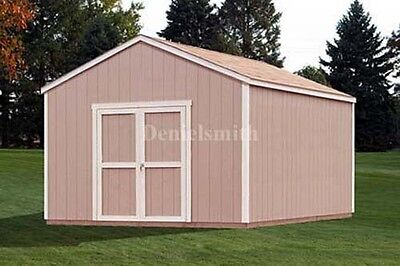 12x12 Gable Storage Shed Plans, Buy It Now Get It Fast!