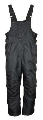 Men's Mossi Competition Series Snowmobile Bibs Snow Pants Winter Black
