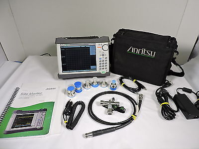 Anritsu S331E Sitemaster Analyzer, Cable and Antenna, Din Kit , Touch Screen