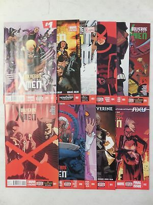 WOLVERINE And THE X-MEN Comic NEAR COMPLETE Set # 1 2 3 4 5 6 7 8 9 11 12