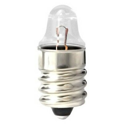 10 Pack Miniature Lamp Light Bulb #222 222 2.25V .25Amp .25 Amp Mini Screw 10182