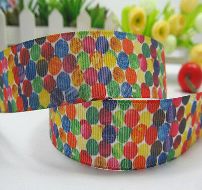 The Very Hungry Caterpillar Ribbon 1m long Polka Dots 1' wide