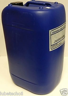 25 Litre Pure De-Ionised Demineralised Water Not Distilled