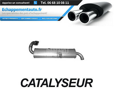 CATALYSEUR Pot Catalytique Smart Fortwo Coupe 0.8 CDI (DE 1999 A 2004)