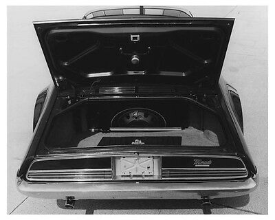 1966 Oldsmobile Toronado Trunk Automobile Factory Photo ch7007