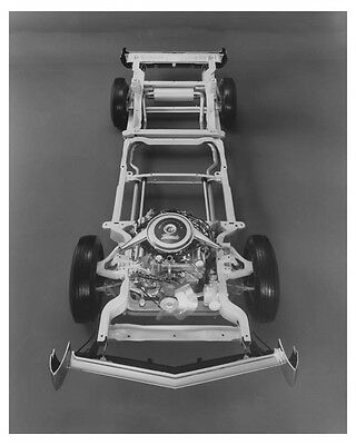 1966 Oldsmobile Toronado Chassis Automobile Factory Photo ch7010