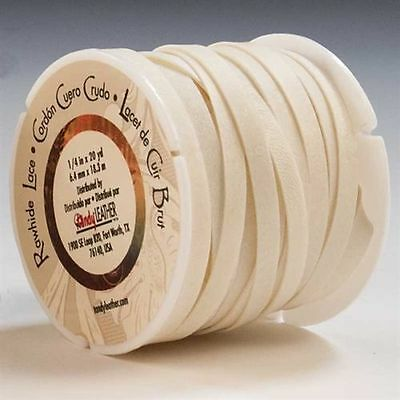 """1/4"""" Rawhide Lacing Lace - By The Yard"""