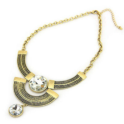 Stunning Ancient Eastern Priestess Look Statement Necklace Dessert Princess