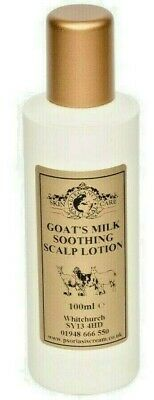 Goats Milk Soothing Scalp Lotion 100ml Psoriasis Eczema Dry Skin Dermatitis