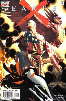 Earth X (1999-2000) #1 of 12 (2nd Print Variant)