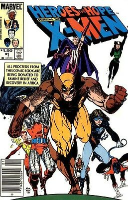 Heroes for Hope - X-Men (1985) One-Shot