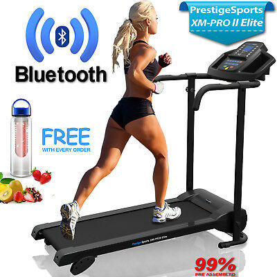 Treadmill Bluetooth XM-PRO II Elite™   Incline Electric Folding Running Machine