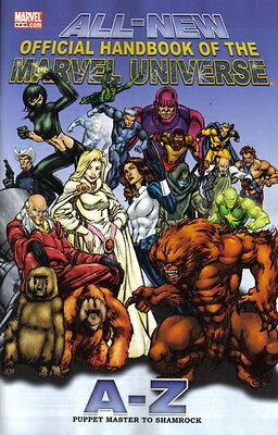 Official Handbook of the Marvel Universe A-Z (2006-2007) #9 of 12