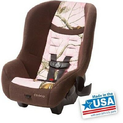 Convertible Car Seat Toddler Kid Baby Cosco Scenera NEXT Rear Front Face Pink